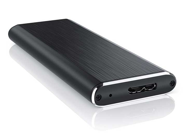 CSL M 2 SATA SSD USB 3 0 Enclosure - FREE & FAST UK Delivery