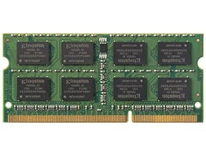 DDR3 PC3-12800 1600MHz 204-pin SODIMM