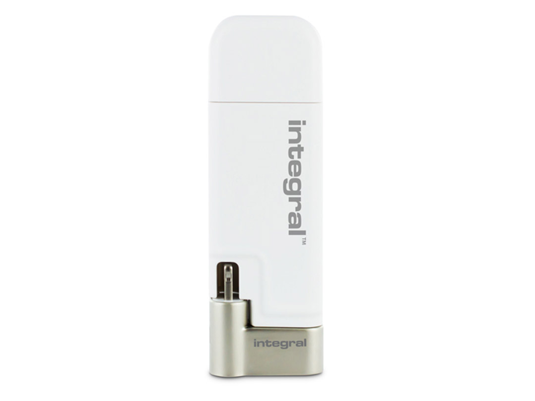 Integral 32gb Ishuttle Iphone Ipad Usb 3 0 Flash Drive