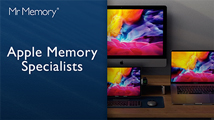 Upgrade with the Apple Memory and SSD experts.