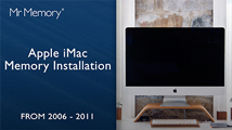 How to install Apple iMac Memory (2006 to 2011)