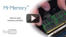 How to seat memory correctly