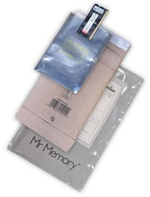 Mr Memory Packaging